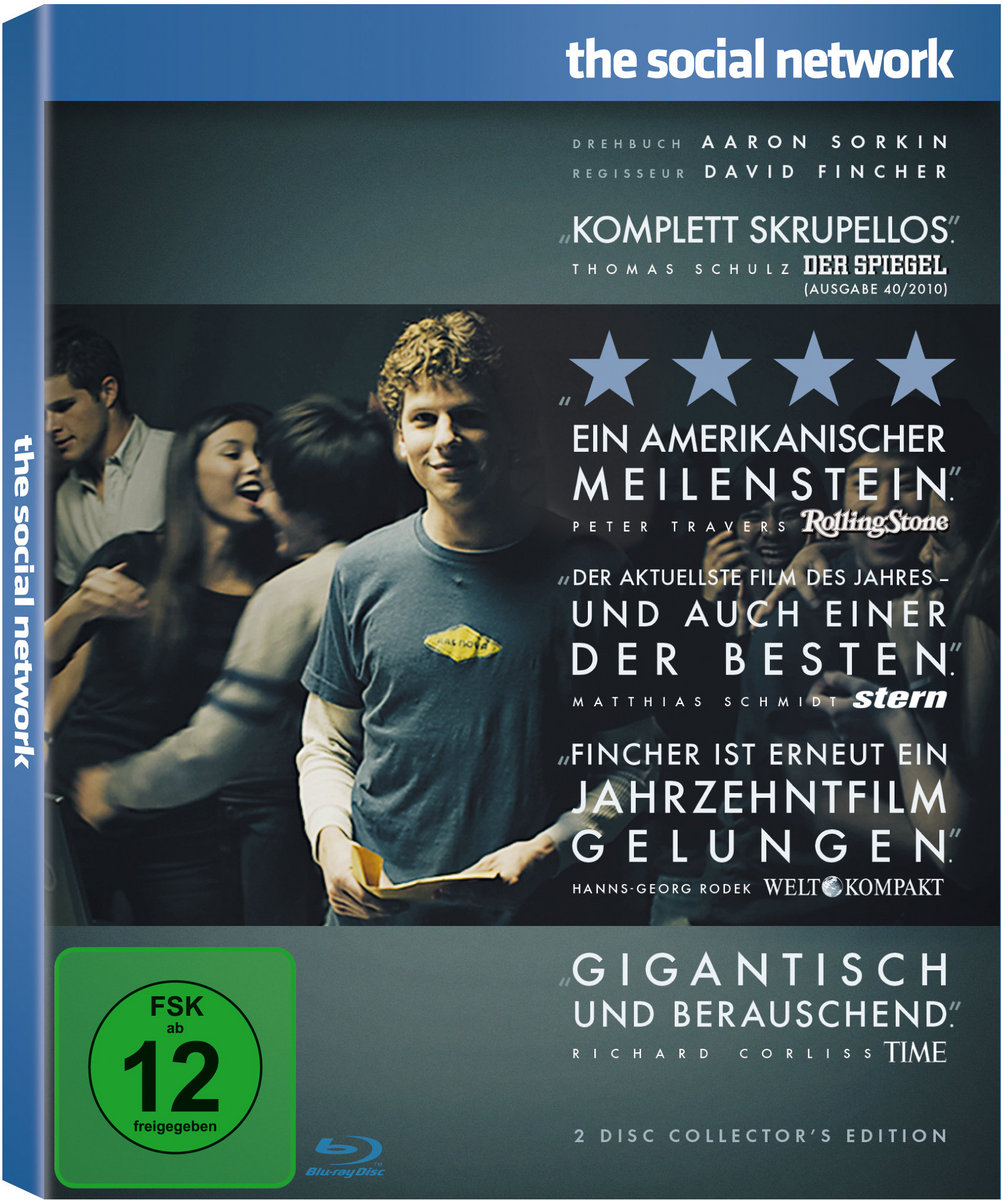 Armie-Hammer-The-Social-Network-2-Blu-rays-Collector-039-s-Edition